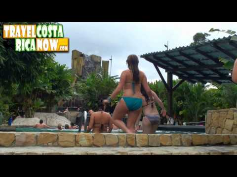 Baldi Hot Springs Fortuna Arenal Costa Rica Video