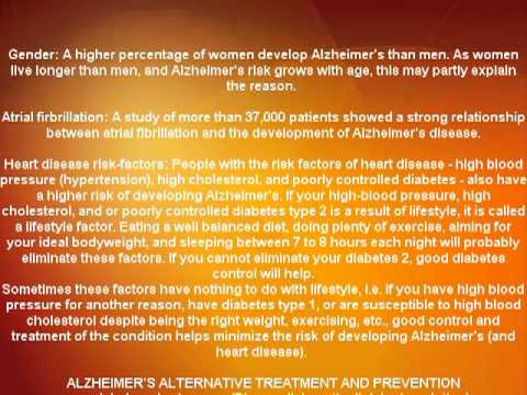 Alzheimer disease causes and risk factors (NEW)