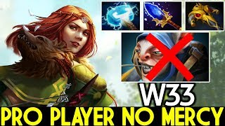 W33 [Windranger] Pro Player No Mercy Insane Mid Lane 7.22 Dota 2