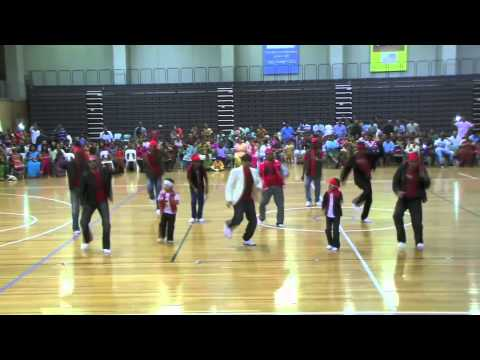 Sydney Ganesha Festival 2013 - boys dance for lungi dance and...
