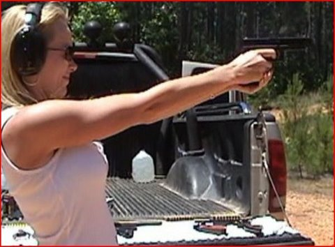 Hot Casing Down BRA!!! OUCH!!! ( 44 MAG & 357 MAG! )