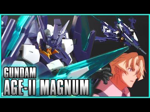 HGBD 1/144  Gundam AGE II Magnum Review - GUNDAM BUILD DIVERS  - ガンダムAGE IIマグナム