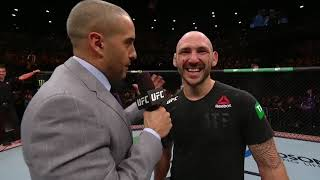 UFC 234: Lando Vannata Octagon Interview