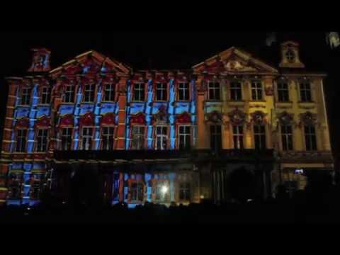 AMAZING 3D PROJECTION DREAMFORGE AT THE SIGNAL FESTIVAL PRAGUE 2014