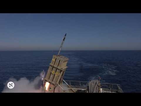 Iron Dome maritime interception