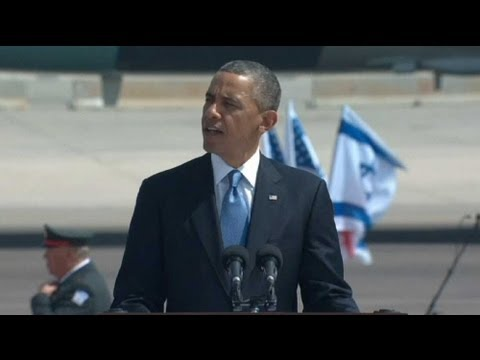 Israel's gushing welcome for Obama