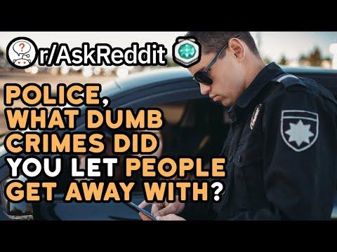 Police, What Crime Was So Ridiculous You Let It Slip? (Reddit Stories r/AskReddit)