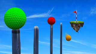 99% Can NOT Finish This GOLF SKILLCOURSE! (Golf It)