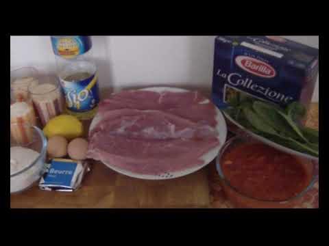 Cuisine Italienne - Escalope de veau Milanaise