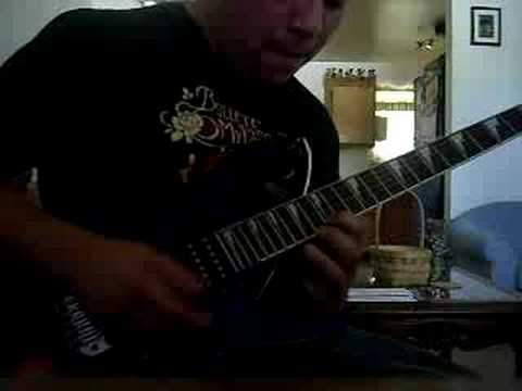 Pantera - Cowboys From Hell (solo) by Aldo Beltran