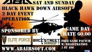 Adventure Beach Airsoft ABA Black Hawk Down 2015 Event ✪ U.S. Forces ✪