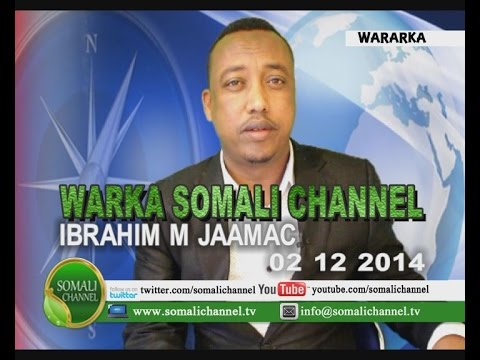 WARKA SOMALI CHANNEL SWEDEN IBRAHIM M JAAMAC 02 12 2014