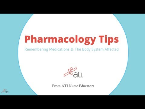 Pharmacology Tips: Remembering Medications & The Body Systems Affected