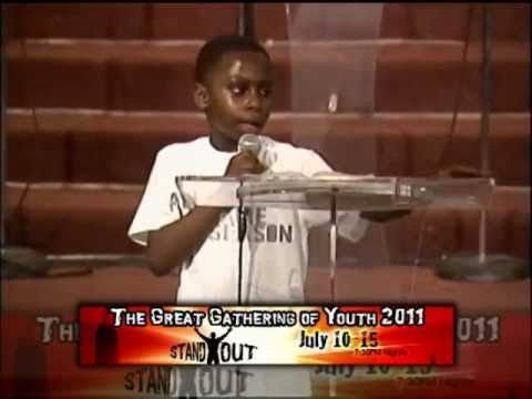TGGY'11 HIGHLIGHTS (The Great Gathering of Youth 2011); 8 yrs old boy Preaches about Prophecy