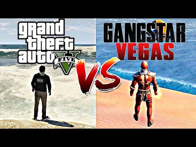 GTA V VS Gangstar Vegas  | COMPARISON (in Depth) 2019 thumbnail