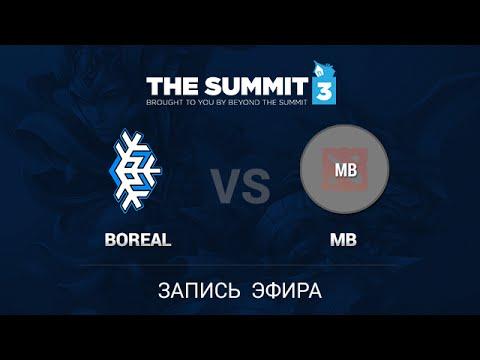 Boreal Esports - Monib Baray, The Summit 3 NA PreQualifiers, Quarterfinal, game 1