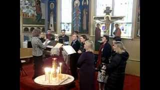 O Lord Save Thy People Sung In English And Church Slavonic