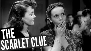 THE SCARLET CLUE | Sidney Toler | Mantan Moreland | Full Comedy Movie | English | HD | 720p