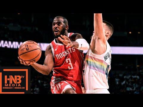 Houston Rockets vs Denver Nuggets Full Game Highlights | 11.13.2018, NBA Season