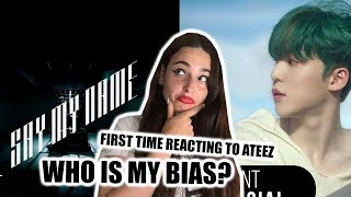 FIRST TIME REACTING TO ATEEZ(에이티즈) (Say My Name / WAVE)