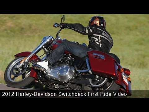 MotoUSA First Ride:  2012 Harley-Davidson Switchback