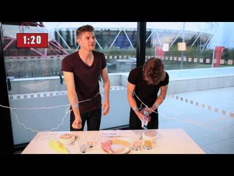 ELECTRIC SHOCK CHALLENGE WITH JIM & JOE!