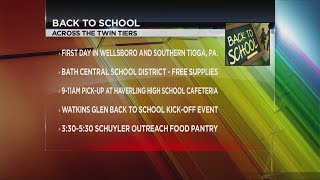 Back to school for the Twin Tiers