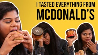 I Tasted Everything From McDonald's India | BuzzFeed India