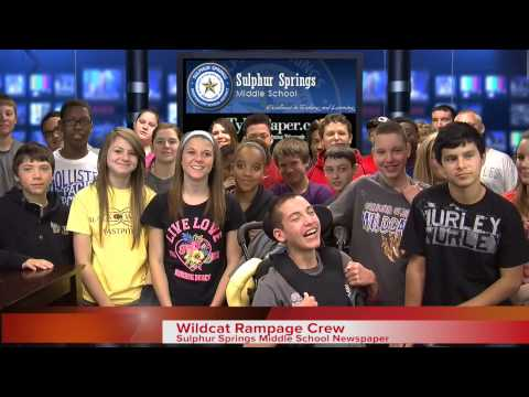 Sulphur Springs Middle School Visits Tyler Morning Telegraph