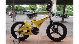 Xe đạp LANQ FD 16 vành đúc có giảm xóc