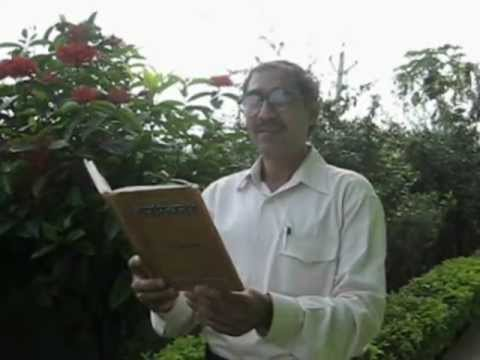 'tapasvini' Kavya :hindi : Canto-4 - Usha  Poem Recitation By Dr.harekrishna Meher video