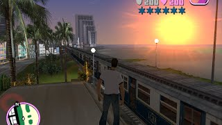 GTA vice city: how to get a train cheat (parody)