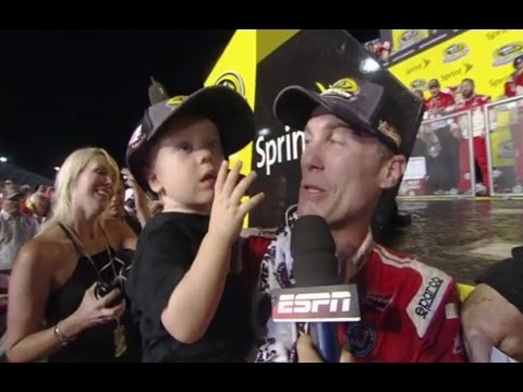 Emotional Interview After Kevin Harvick wins NASCAR Sprint Cup championship