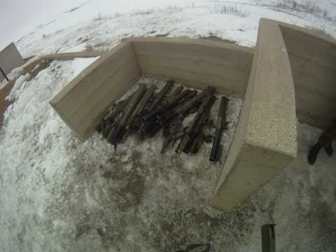 M72 LAW Rocket Launcher Shoot (GO Pro Helmet cam, poor sound)