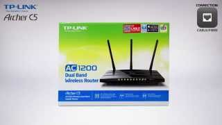 TP-LINK Archer C5 AC1200 Wireless Dual Band Gigabit Router Unboxing