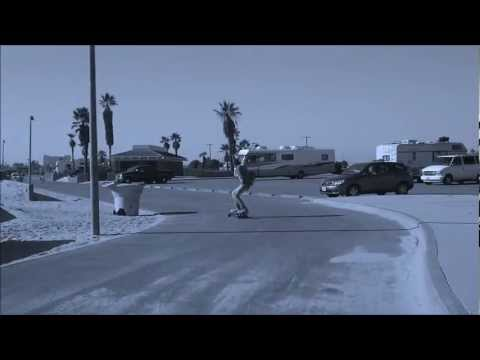 E-Glide electric skateboarding @ Huntington Beach, CA