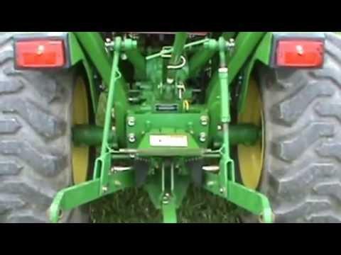 2005 John Deere 790 Compact Tractor Loader 4x4 300 Quick