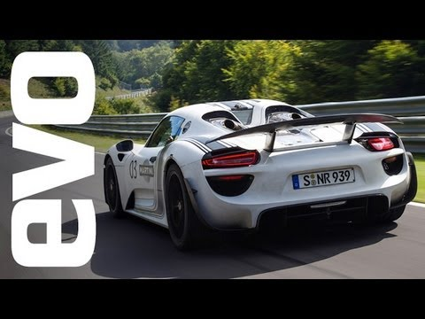 Porsche 918 Spyder- First drive with Walter Rohrl
