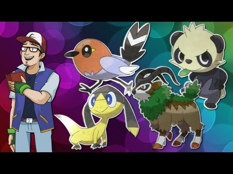 Four New 6th Gen Pokémon Revealed! - Pokémon News