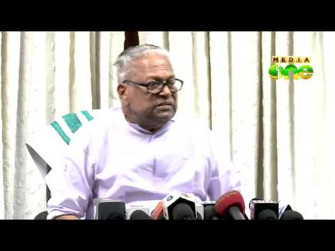 V. S. Achuthanandan lashes A K Antony in Aruvikkara