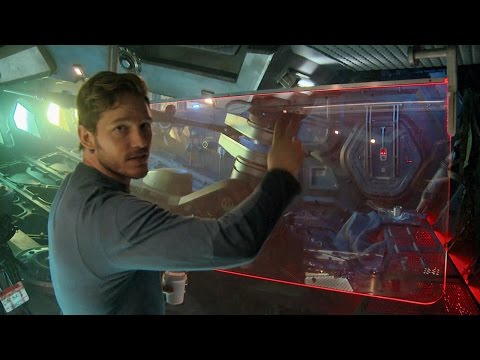 Tour Star-Lord's Spaceship the Milano with Chris Pratt