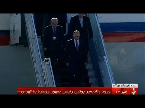 Putin in Tehran for Syria talks