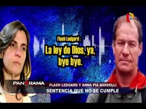 Sentencia que no se cumple: Flash Ledgard y Anna Bardelli enfrentados por sus hijos