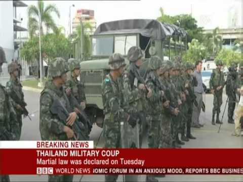 BBC World News - 22 May 2014 - Breaking News - Thailand Military Coup