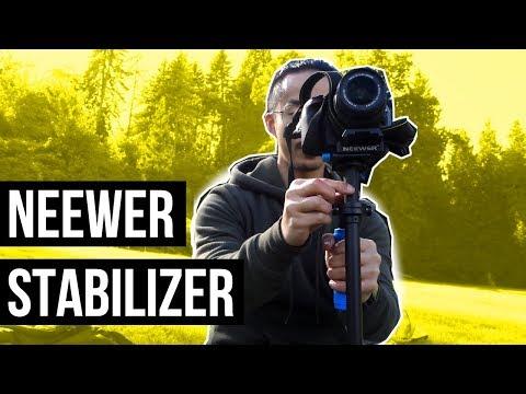 Neewer Stabilizer 24'' DSLR Steadicam Setup & Test Video (REVIEW)