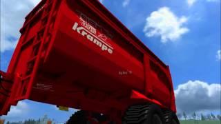 Landwirtschafts, Simulator, 2011, Krampe, Big, Body, 700, Fendt, Vario, 722, Norddeutschland, Map, NKB, Modding, Claas, Lexion, 770, Terra, Trac, HD, Video