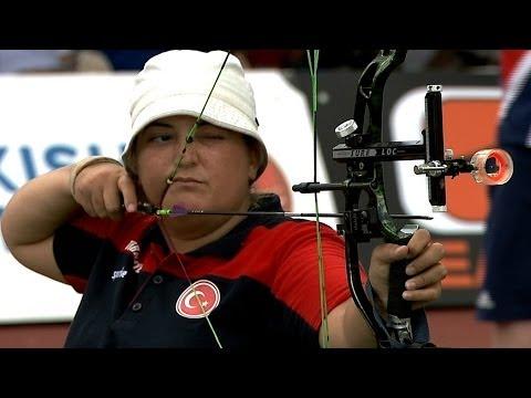 Compound Women Open Gold – WA Para Championships 2013 – Bangkok (THA)