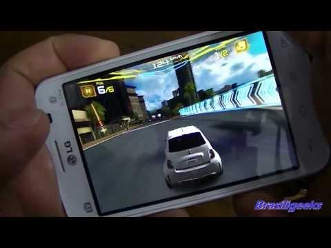 LG Optimus L4 II Tri TV -  Teste de Jogos