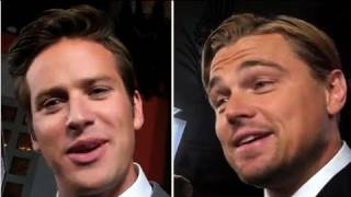 Leonardo DiCaprio Dishes on His Onscreen Kiss With Armie Hammer