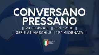 Serie A1M [19^]: Conversano - Pressano 25-25